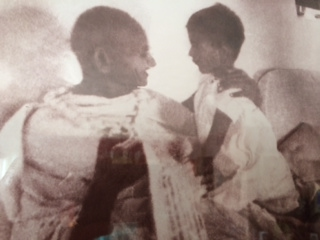 Mahatma and Arun Gandhi