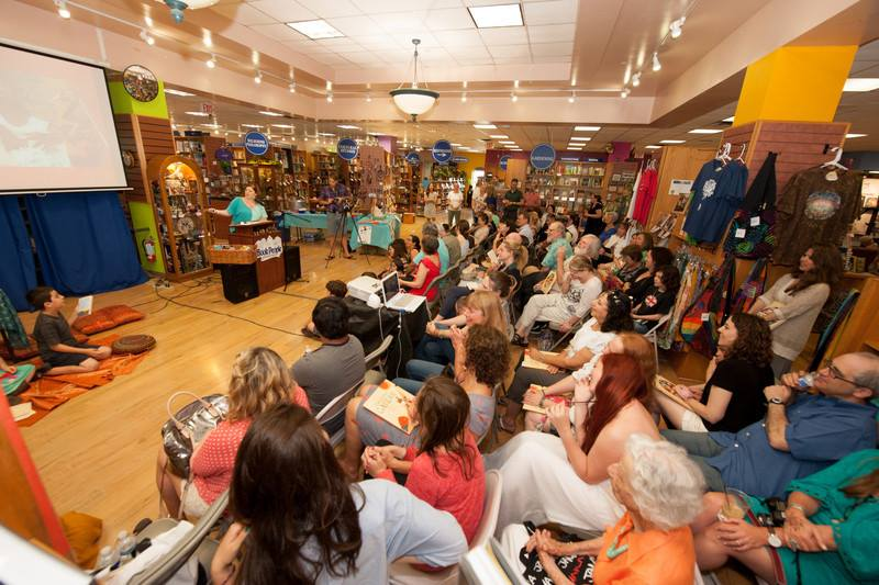 GRANDFATHER GANDHI Event at Book People