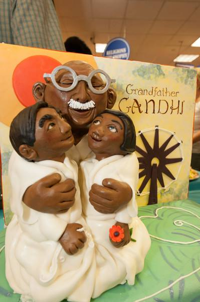 GRANDFATHER GANDHI Cake by Akiko White