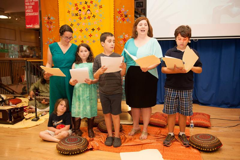 Austin Students Perform GRANDFATHER GANDHI Reader's Theater